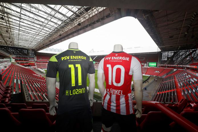 Energiedirect.nl prijkt vanaf nu ook op de rug van de PSV'ers.