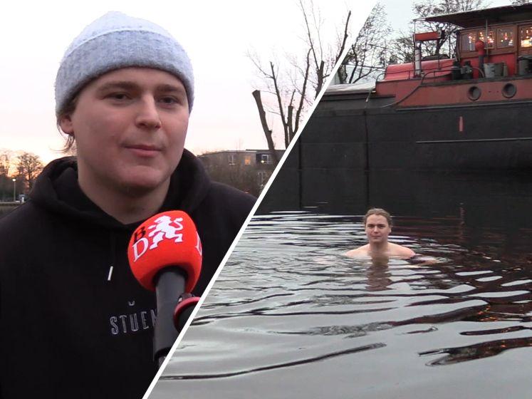 Vrienden zwemmen dagelijks in ijskoud water: 'Een aftrap naar een gezonder leven'