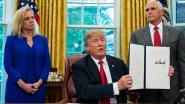 Trump tekent besluit dat einde maakt aan scheiding tussen migrantenkinderen en ouders