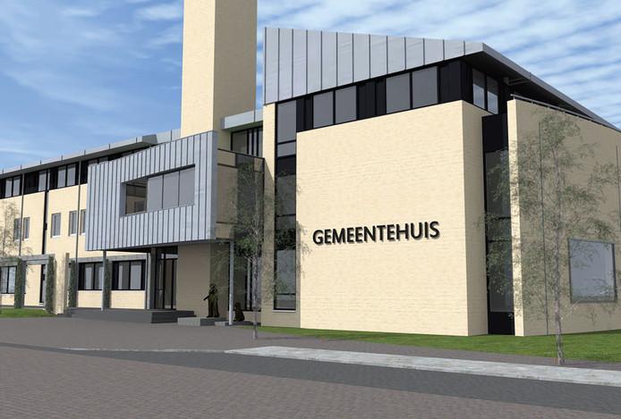 Het gemeentehuis van de gemeente Berg en Dal in Groesbeek.