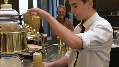 Zesdejaars hotelschool SIMA leren de perfecte pint tappen