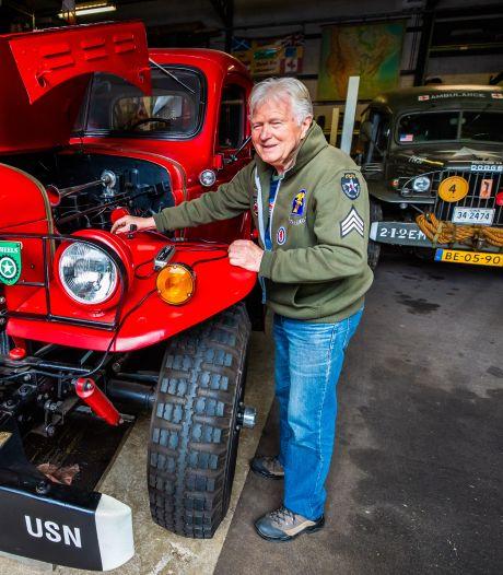Nog steeds is Harrie Vrienten (80) dat jongetje van vier: 'Militaire voertuigen zijn hartstikke spannend'