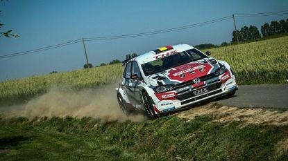 Craig Breen leidt in de Rally van Ieper, Thierry Neuville leider in Masters-klasse