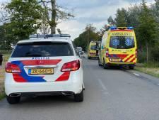Motorrijder met spoed naar ziekenhuis na ongeval in Schalkhaar