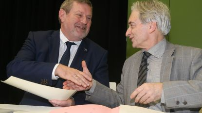 Herman Vijt legt eed af als burgemeester