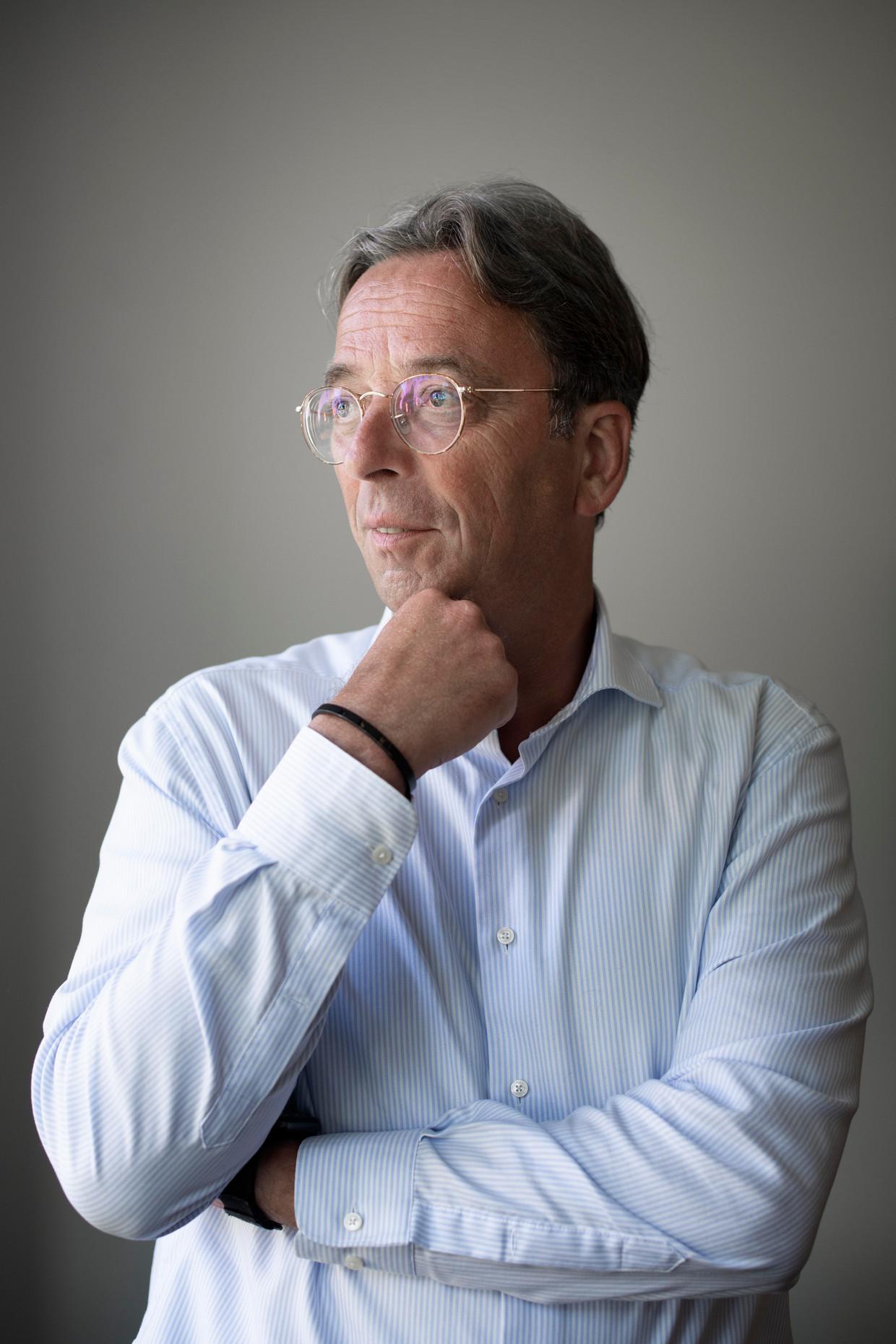 Rutger Koopmans: 'Mijn generatie wil jongeren wakker schudden.' Beeld Kiki Groot