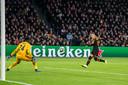 Rodrigo zet Valencia op voorsprong.