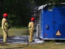 Opnieuw brandstichting op zelfde plek in Bakel
