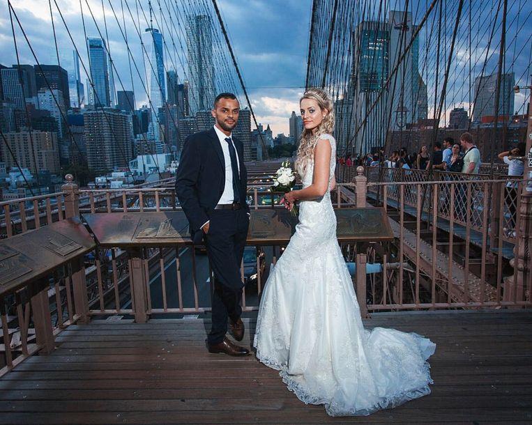 Nelson Moraïs en Tess Dockers in New York.