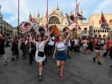 Het eindeloze gevecht tegen 'monsters' van cruiseschepen in Venetië