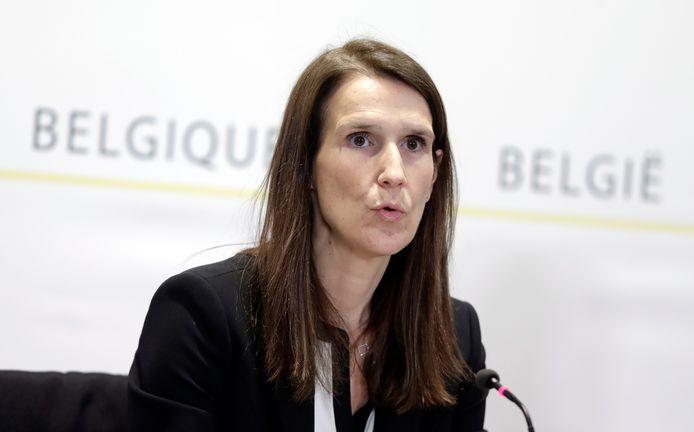 Sophie Wilmes, premier van België.