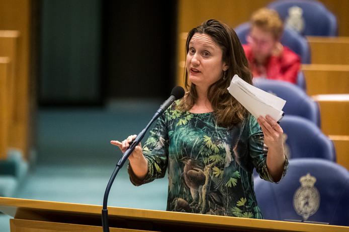 """Kamerlid Suzanne Kröger van GroenLinks: ,,De minister laat de mensen in Oost-Nederland in onzekerheid."""""""