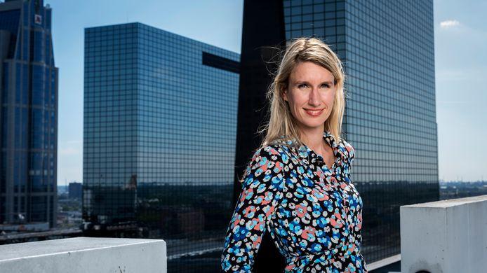 AFGEKOCHT Portret van Irene van den Berg, columnist voor het AD, Economie. Foto Joost Hoving