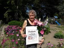 Sopraan Annie erelid van het  Groesbeeks Gemengd Koor