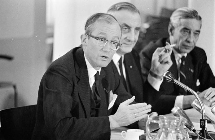 Minister Johan Witteveen in 1968.
