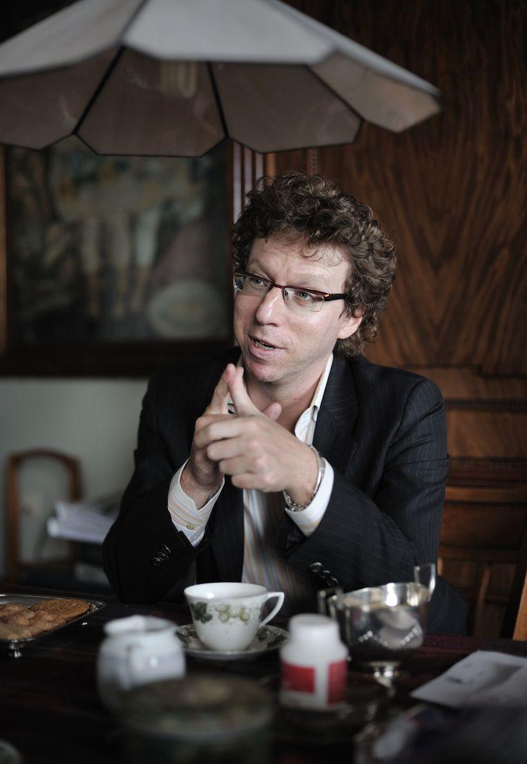 Grunberg in 2012. Beeld Joost van den Broek / de Volkskrant