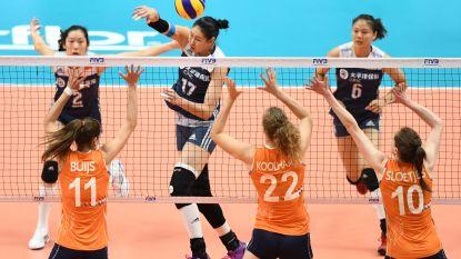 China klopt Nederland in troostfinale van WK vrouwenvolley