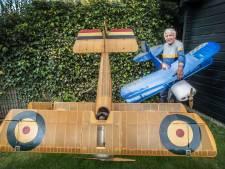 Henk uit Millingen bouwt modelvliegtuigen: 'Eerste moment is het spannendst'