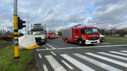Voetganger overleden na aanrijding in Moerkerke