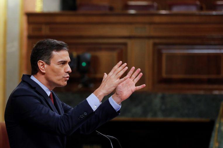 Premier Pedro Sanchez.