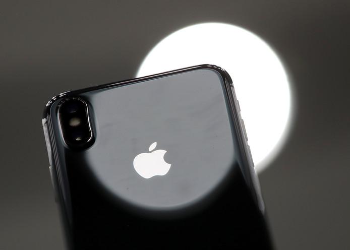 De nieuwe iPhone X.