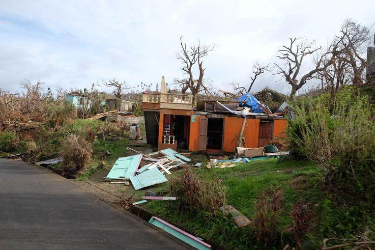 De verwoesting op Dominica was immens.