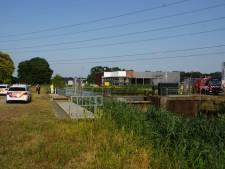Paniek in Punthorst: wielrenner te water! (Maar hij had het gewoon heet)
