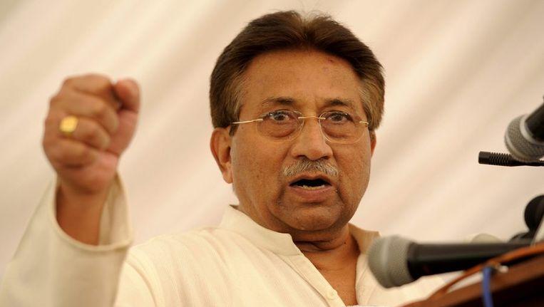 Musharraf op archiefbeeld. Beeld epa