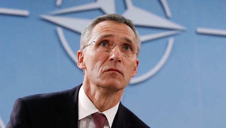 Secretaris-generaal van de NAVO, Jens Stoltenberg.