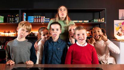Marie Verhulst gaat koken met kinderen voor Studio 100 TV in 'De Pottenlikkers'
