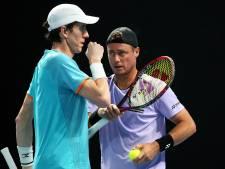 Koolhof knikkert Hewitt uit dubbelspeltoernooi