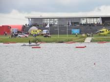 Persoon gewond bij hindernisbaan in water Zevenhuizen