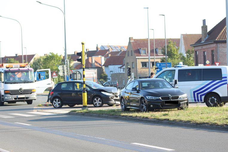 Ongeval R30 ter hoogte van de Kruispoort