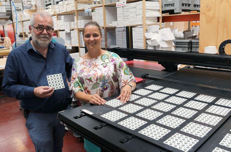 Dirk Spooren en Sofie Hermans van Orakel in Retie. Dit bedrijf geeft alvast het goede voorbeeld.