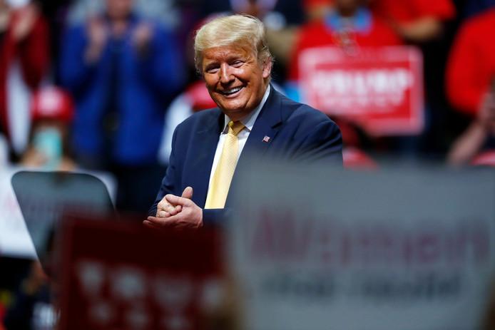 Amerikaans president Donald Trump.