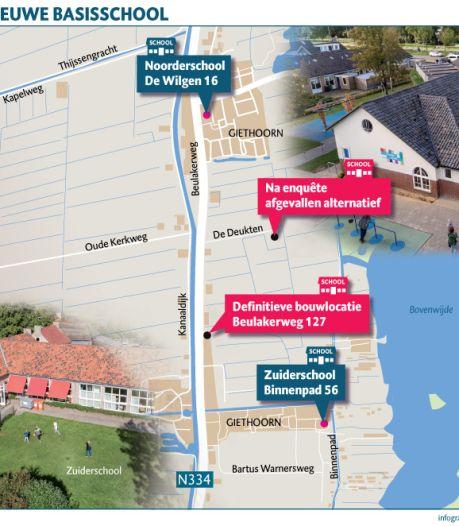 Extra geld nodig voor bouw school in Giethoorn