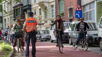 Pas vanaf juni boetes in fietsstraten