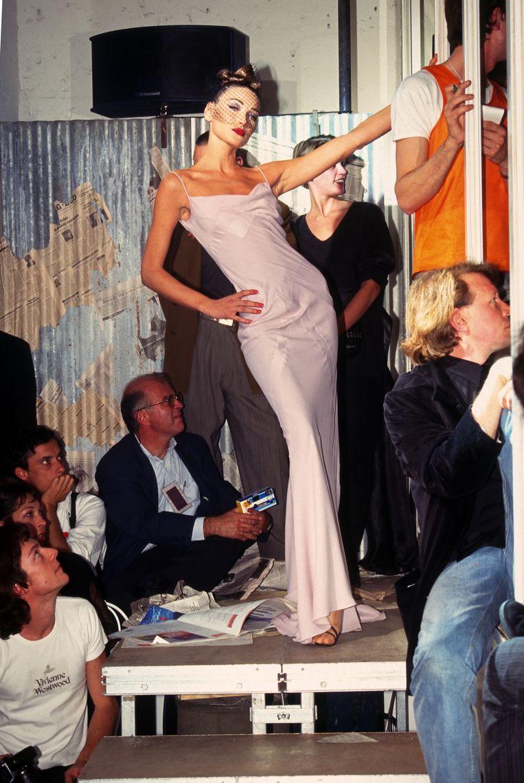 De jaren negentig: bij een show van John Galliano Beeld WireImage