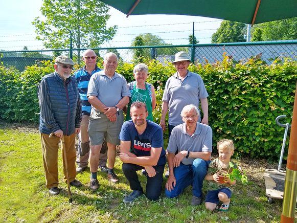 De compostmeesters vierden hun 20ste verjaardag