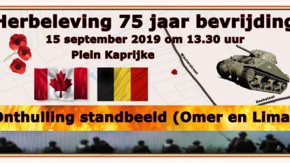 Kaprijke viert zondag 75 jaar bevrijding
