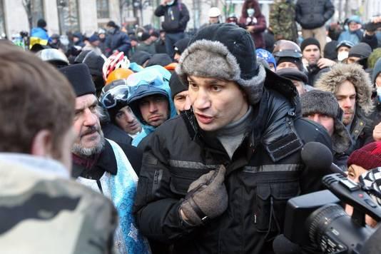 Vitali Klitschko, l'un des leaders de l'opposition ukrainienne