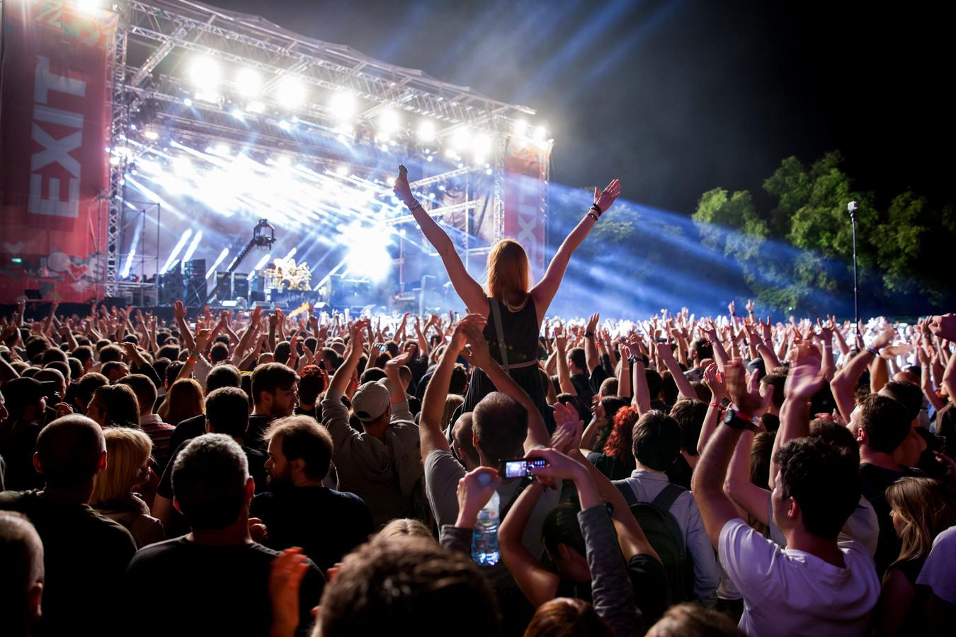 Exit Festival.
