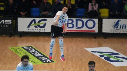 Haasrode Leuven gaat weer in drie sets onderuit, nu tegen Gent