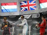 Tweede plek in Abu Dhabi bezorgt Verstappen klassering in top drie