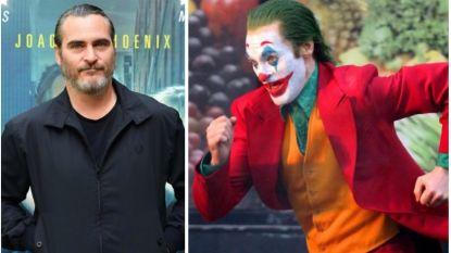 IN BEELD. Joaquin Phoenix toont zijn nieuwe kostuum op de set van 'The Joker'