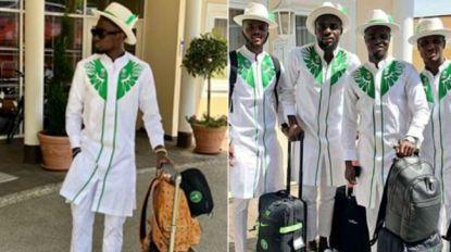 Het coolste land dat gisteren voet zette op Russische bodem, was Nigeria