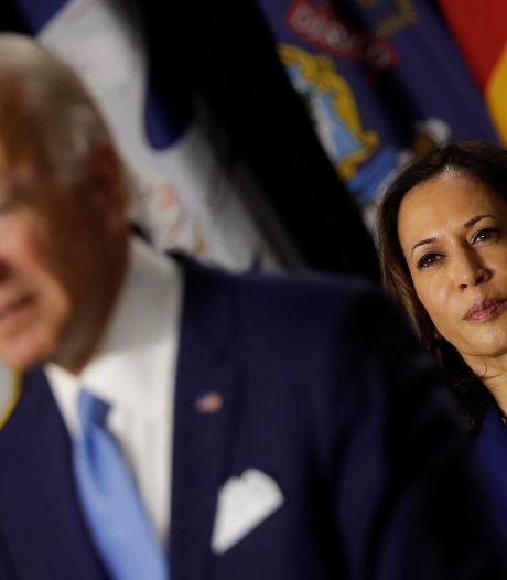 Biden en Harris tijdens eerste speech: 'We zijn klaar om dit land op te bouwen'