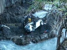 Moord of niet? Ruziënde zussen duiken met auto van Hawaiiaanse klif af