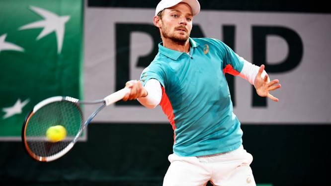 David Goffin test positief op het coronavirus, geen ATP-toernooi in Sint-Petersburg