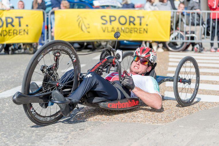 De komende dagen scheuren de paracyclists door de straten van Oostende en Mariakerke.